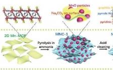 南开卜显和Adv. Energy Mater. : MOF衍生氮掺杂褶皱碳箔在储钠中的应用