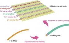 复旦大学彭慧胜Adv. Funct. Mater:将传感纤维编织成电化学织物进行实时健康监测