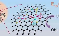上海大学张久俊&燕山大学赵玉峰团队Nano Energy:负载在树突状碳中的双金属Zn,Co-Nx-C-Sy催化剂,用于高效的氧还原反应和柔性锌-空气电池