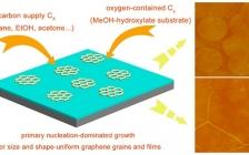 JACS 报道: 利用初级成核主导的CVD生长在电介质基底上生长均匀石墨烯薄膜