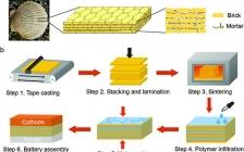 Adv. Mater: 用于固态锂金属电池的由仿生结构启发的固态电解质