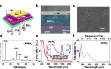 姚建铨院士/张雅婷Nano Lett.:基于CH3NH3PbI3钙钛矿膜在UV到THz范围内实现超宽带检测和高灵敏度的光电探测器