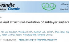跟着顶刊学测试|上海交通大学刘攀教授Angew:低剂量球差透射电镜揭示MOF晶体亚层表面的结构及其演化