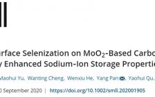 江西师范大学曾凡焱、袁彩雷研究团队Small:可调的表面硒化获显著提高的钠离子电池存储性能