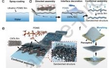 Nano energy: 基于高柔顺变形导电三明治薄膜的仿生水下自感知驱动软系统