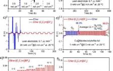 达特茅斯学院李玮瑒课题组Angewandte Chemie:低温和贫电解液条件下可深度循环的钠金属负极