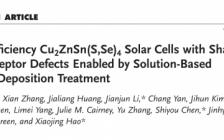AEM:通过氯化锂溶后处理制备浅受体型缺陷Cu2ZnSn(S,Se)4太阳能电池