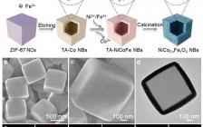 南洋理工楼雄文教授Angew:三金属尖晶石NiCo2-xFexO4纳米盒用于高效电催化析氧