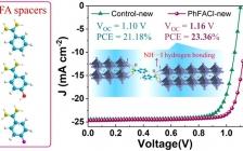 南开刘永胜 ACS Nano:芳香甲脒配体构建高效2D/3D杂化钙钛矿太阳能电池