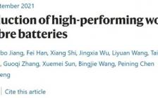 复旦彭慧胜团队年度再发Nature:穿在身上的纤维锂离子电池