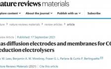 最新 Nature Reviews Materials:CO2RR电解槽的气体扩散电极和膜的最新进展